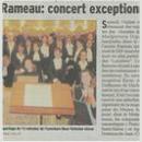 Concert exceptionnel...