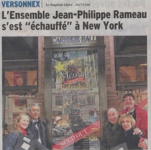 L'ensemble Jean-Philippe Rameau...