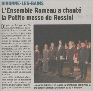 Petite Messe de Rossini