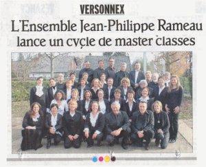 Master Classes janvier 2012