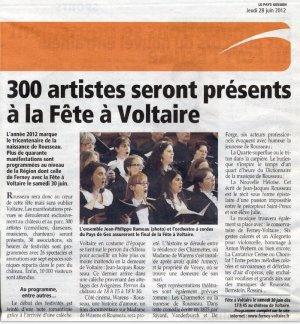 Fête à Voltaire