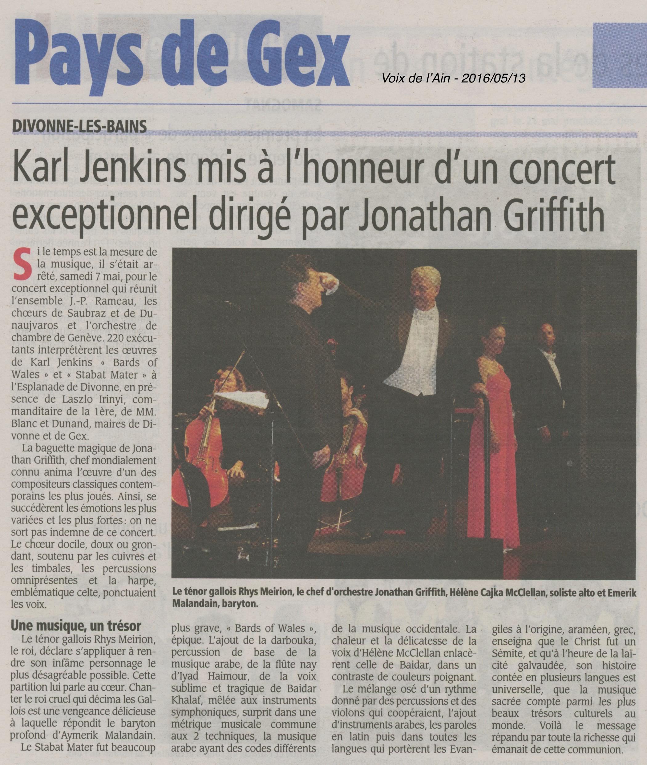 Karl Jenkins mis à l'honneur d'un concert exceptionnel